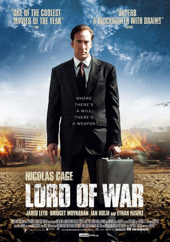 entrepreneur movies - Lord of War 2005