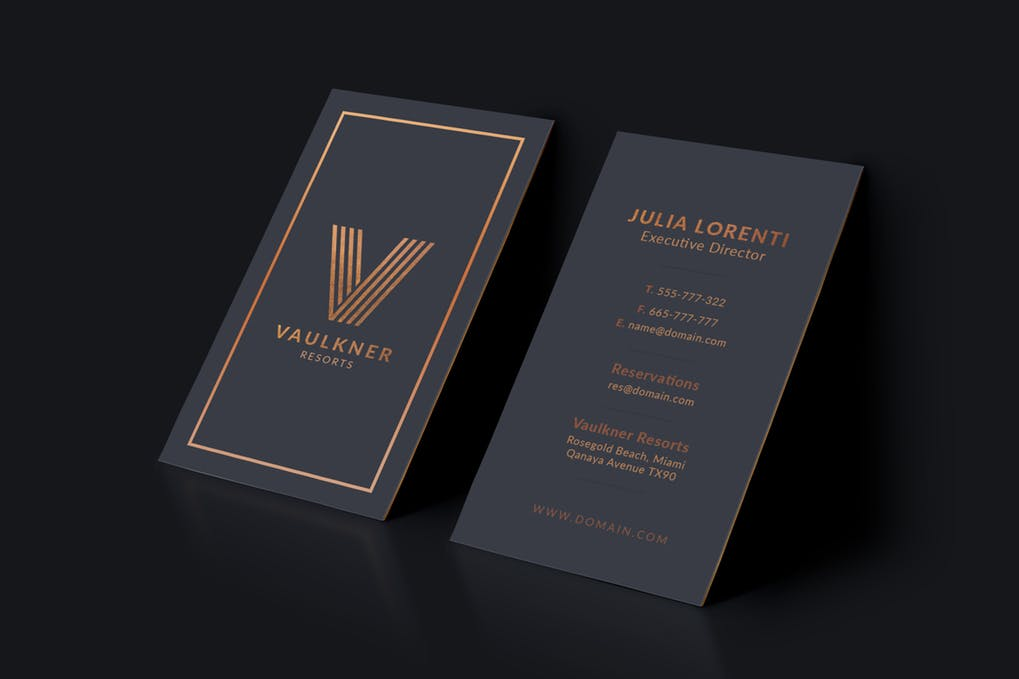 art director's pick of luxury business card #12
