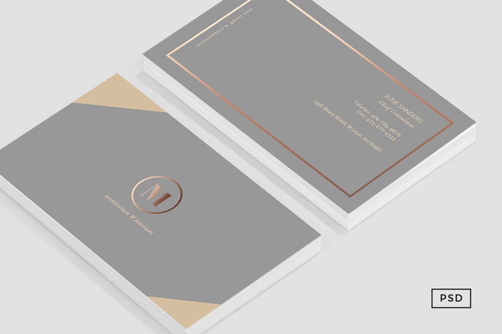 art director's pick of luxury business card #13