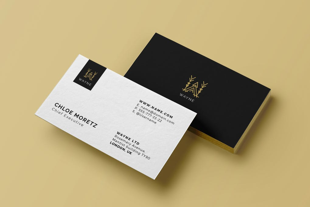 art director's pick of luxury business card #16
