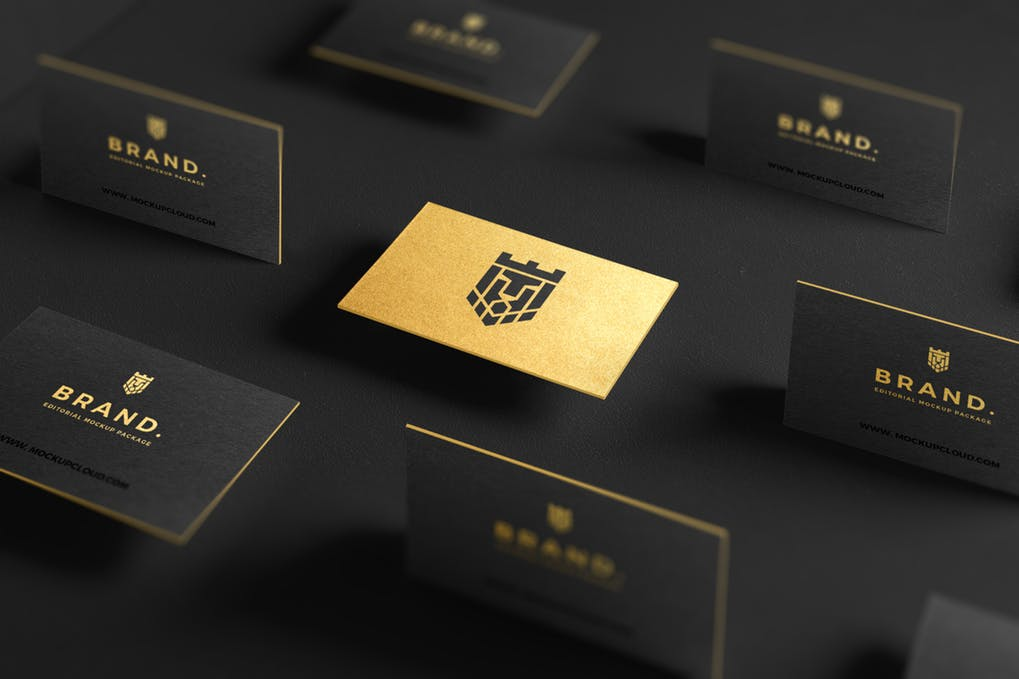 art director's pick of luxury business card #17