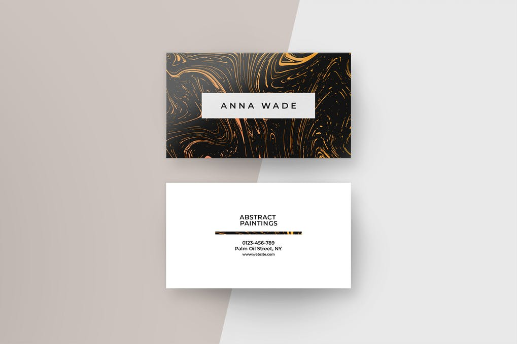 art director's pick of luxury business card #2