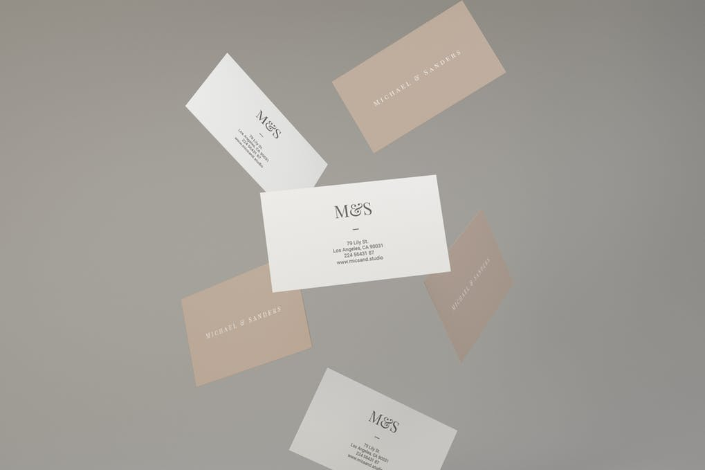 art director's pick of luxury business card #3