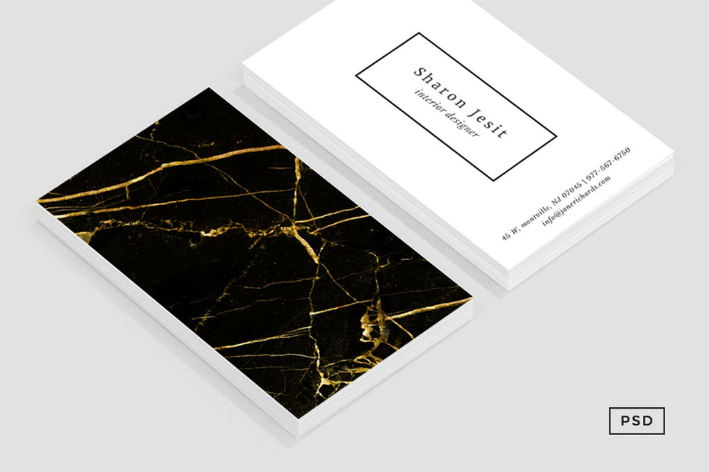 art director's pick of luxury business card #6
