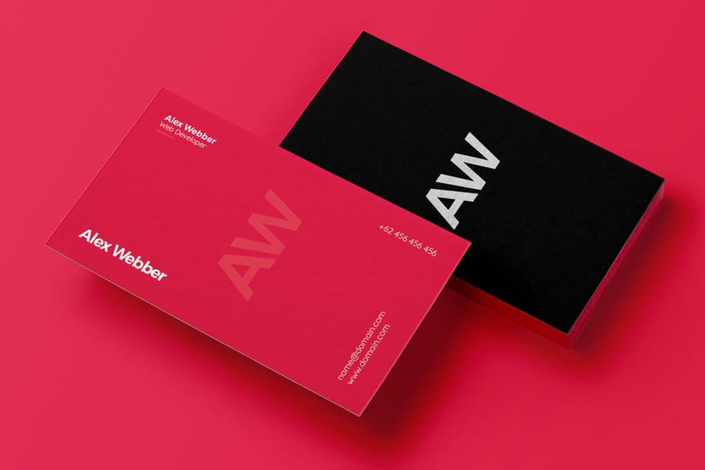 art director's pick of marketing business card #5