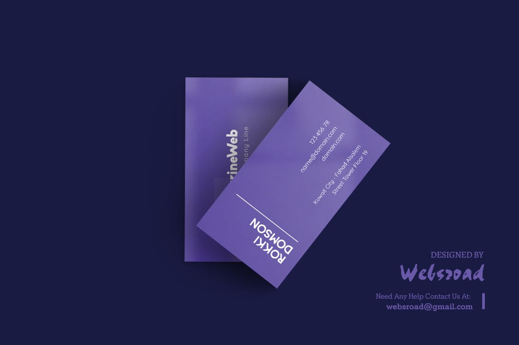 art director's pick of marketing business card #7
