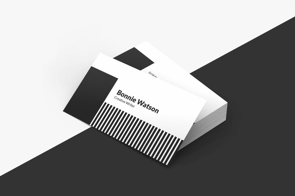 art director's pick of minimalist business card #13