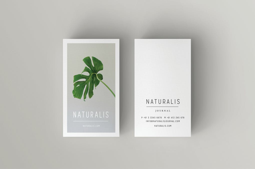 art director's pick of minimalist business card #20