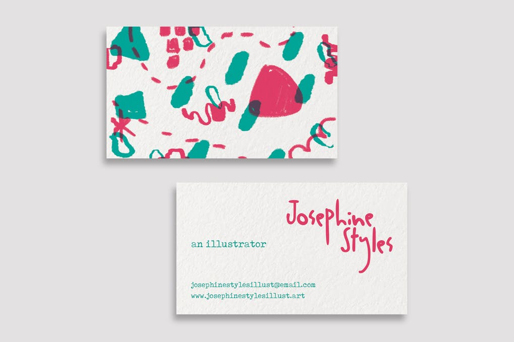 art director's pick of painting business card #9
