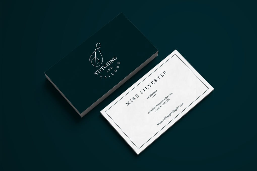 art director's pick of personal business card #16