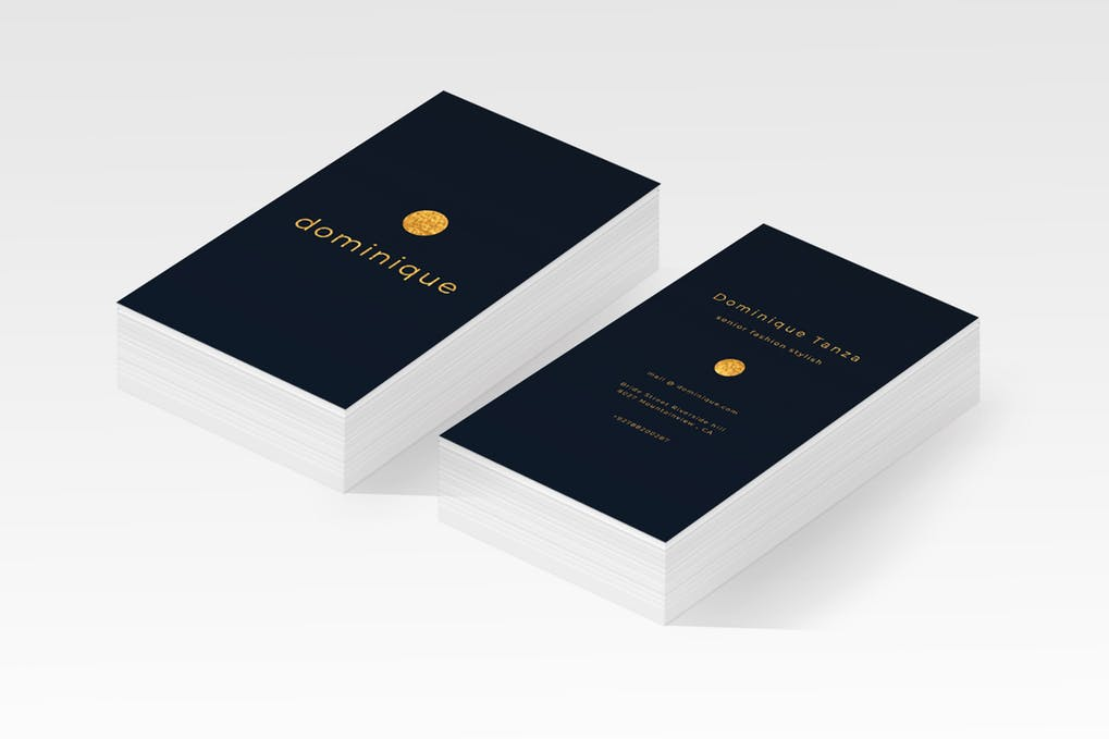 art director's pick of personal business card #20