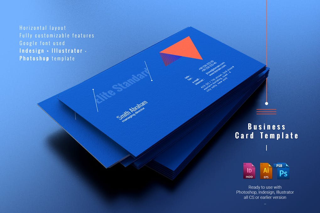 art director's pick of personal business card #21
