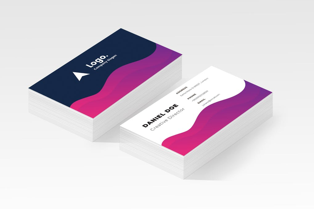 art director's pick of personal business card #5