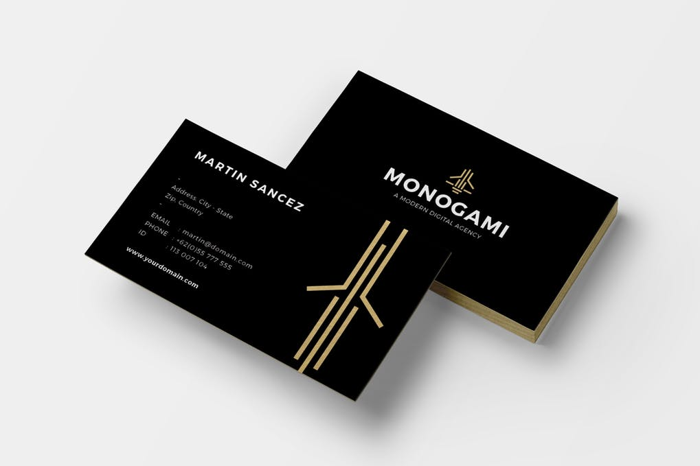 art director's pick of personal business card #6