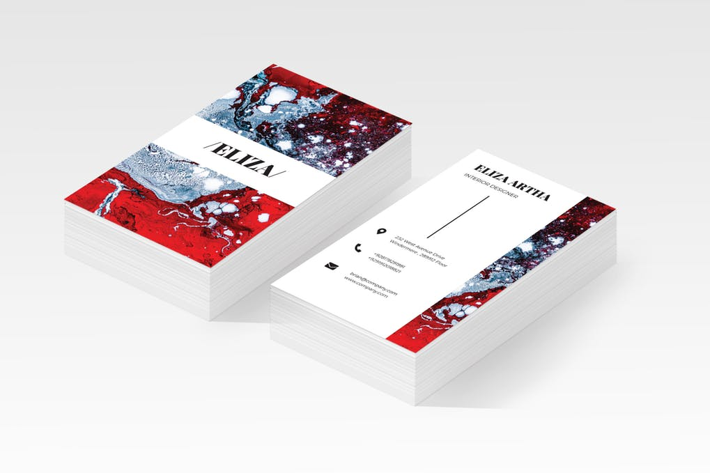 art director's pick of personal business card #8