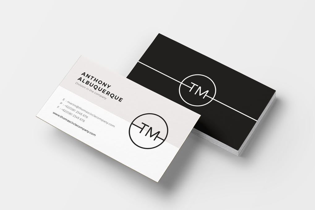 art director's pick of personal trainer business card #13