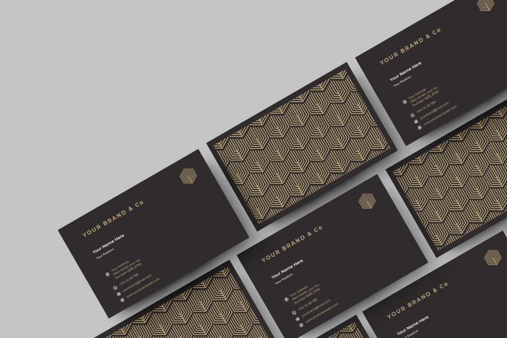 art director's pick of photography business card #3