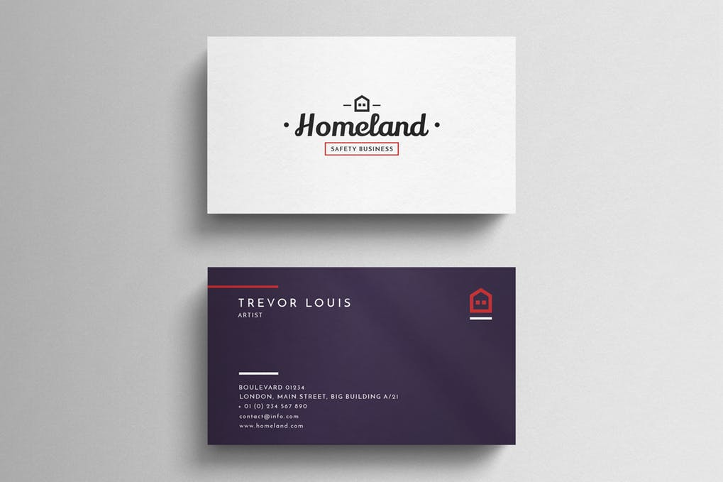 art director's pick of real estate business card #13