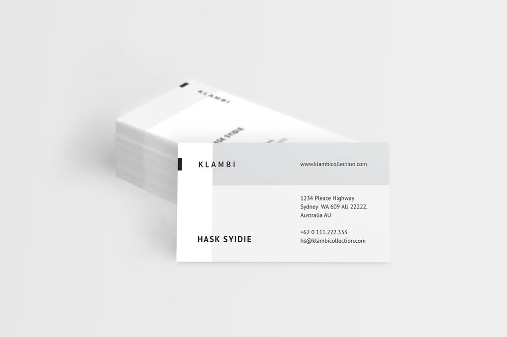 art director's pick of real estate business card #8