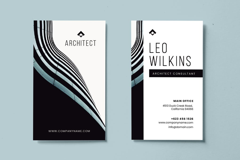 art director's pick of real estate business card #9