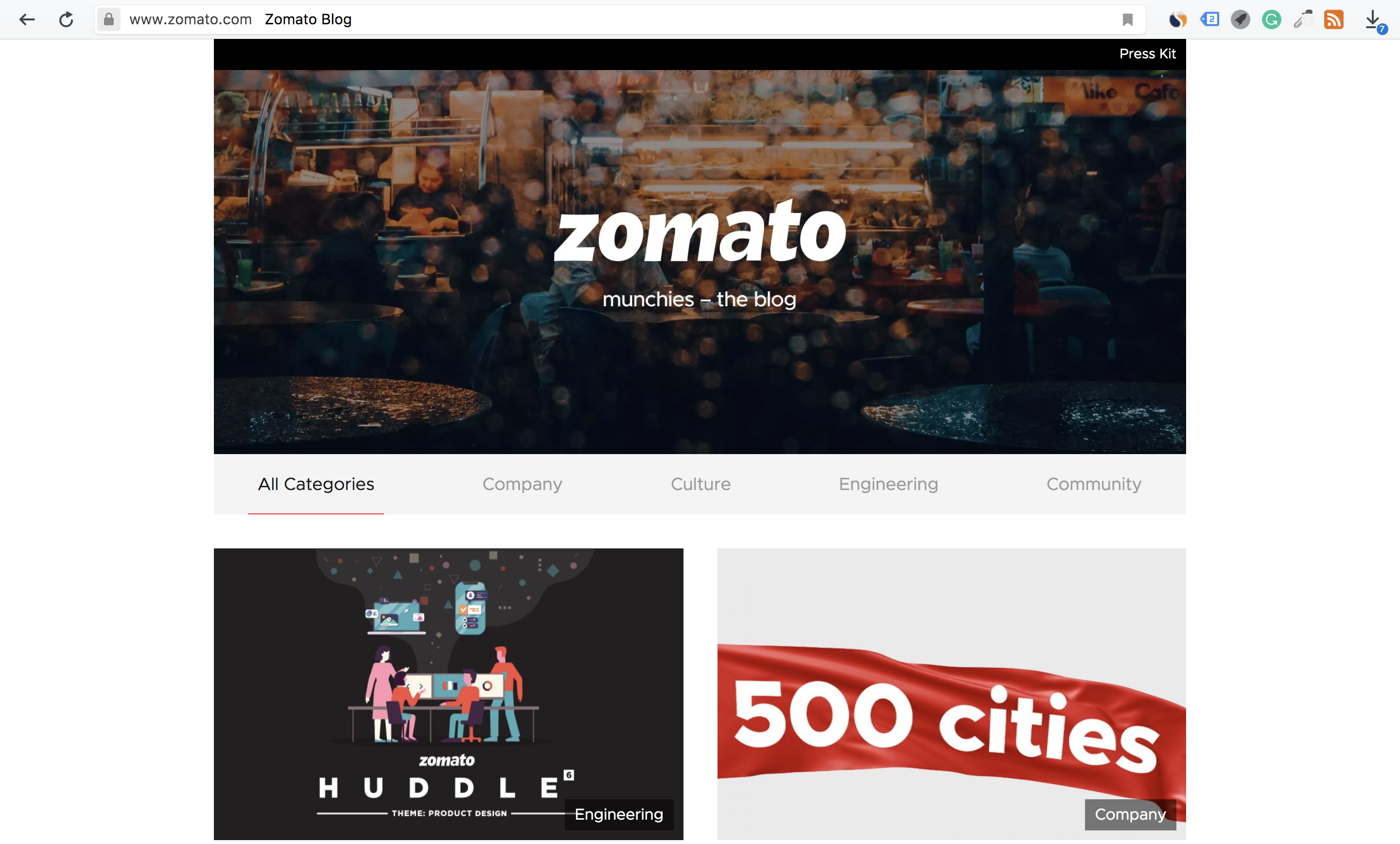 Restaurant Blogs - Zomato