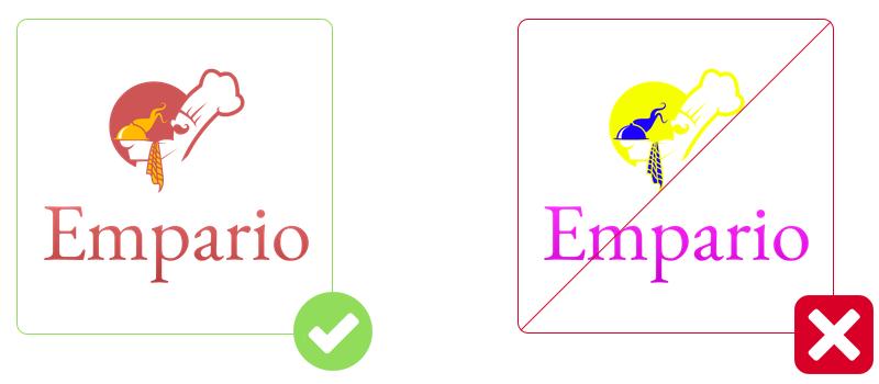 Restaurant Logos Colors