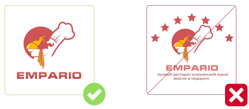 Restaurant Logos: Don't Overdo it