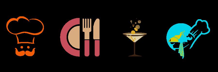 Restaurant Logos Icons
