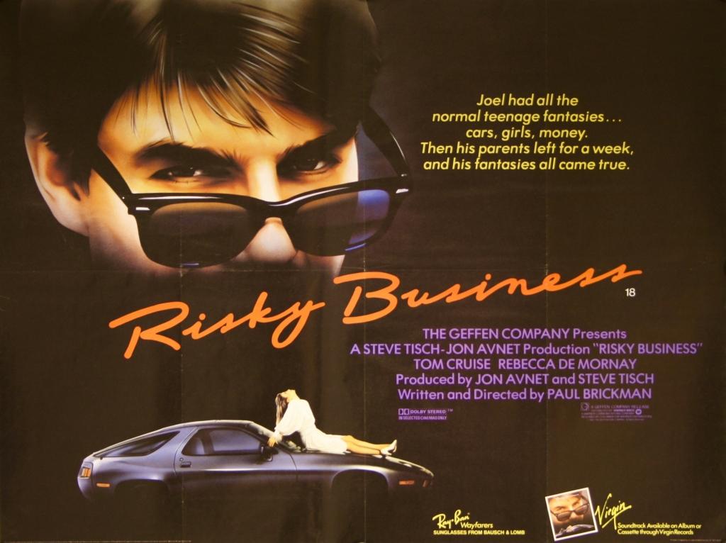 entrepreneur movies - Risky Business