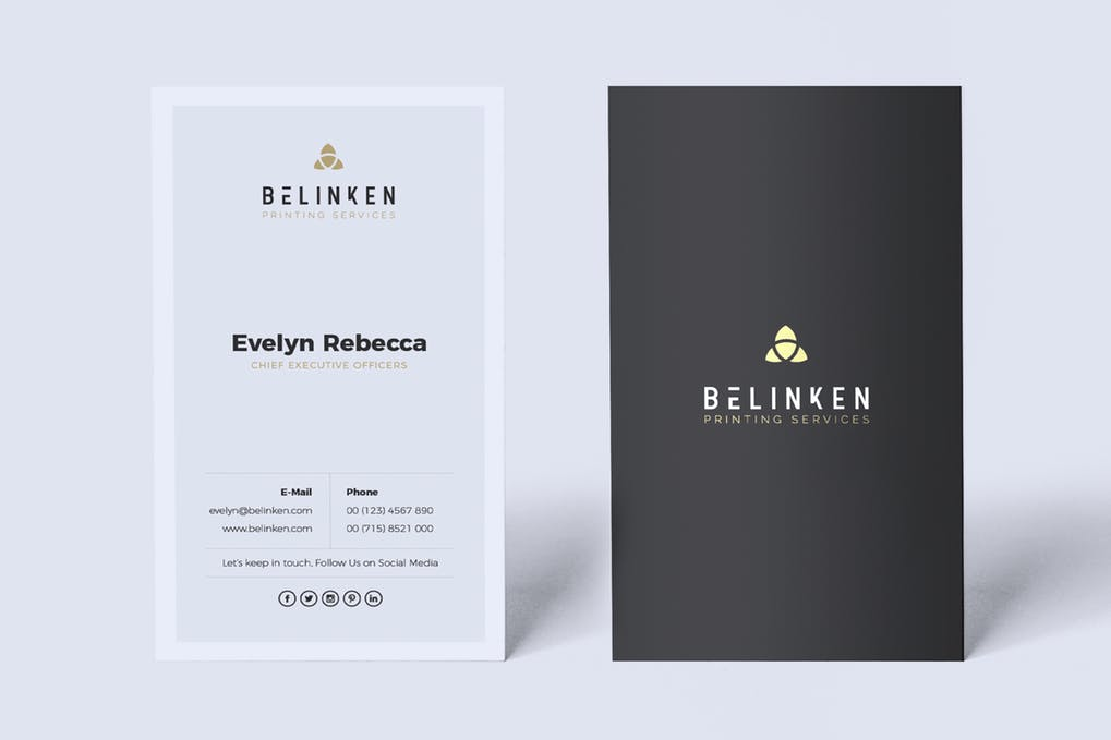 art director's pick of salon business card #2