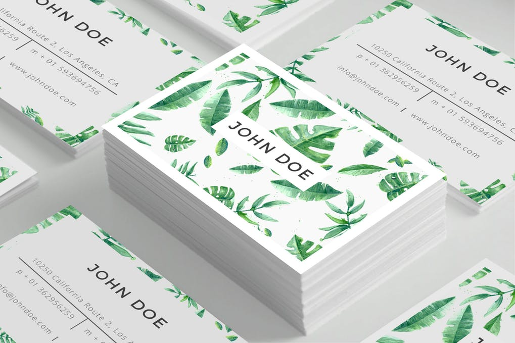 art director's pick of spa business card #3
