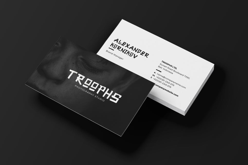 art director's pick of video business card #1