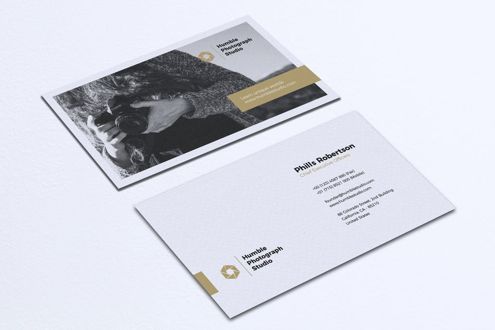 art director's pick of video business card #10