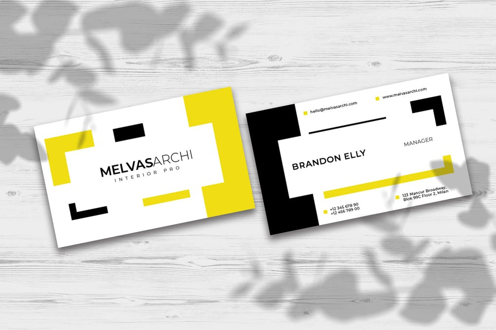 art director's pick of video business card #11