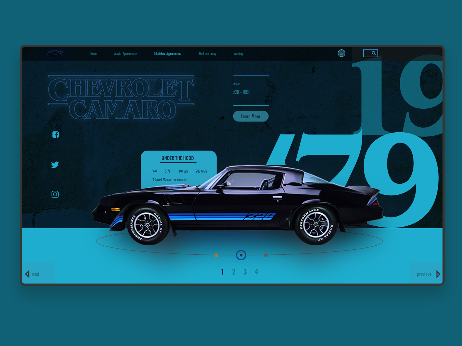 Auto Dealership Website Design Example #2