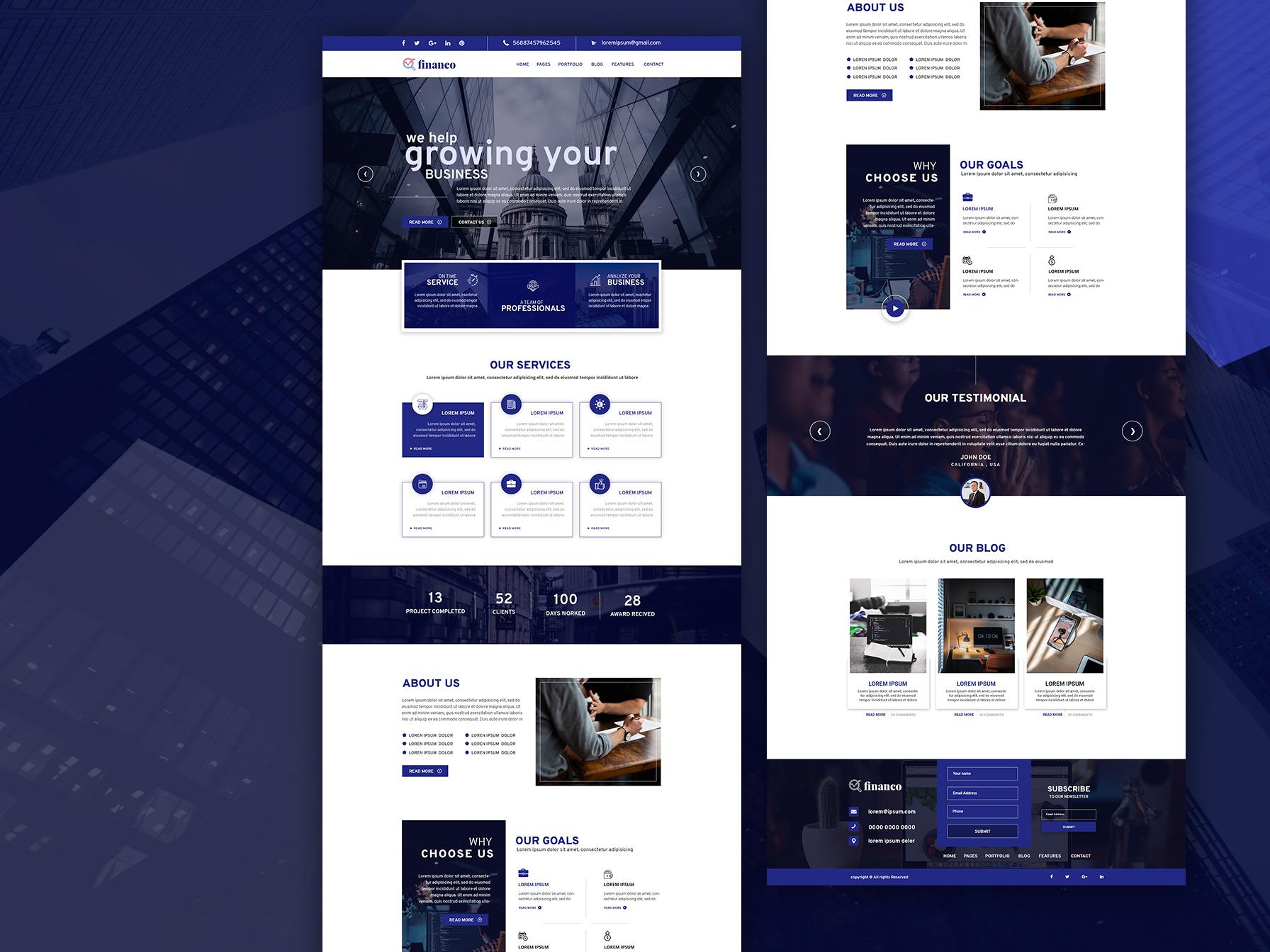 Consultant Website Example #1