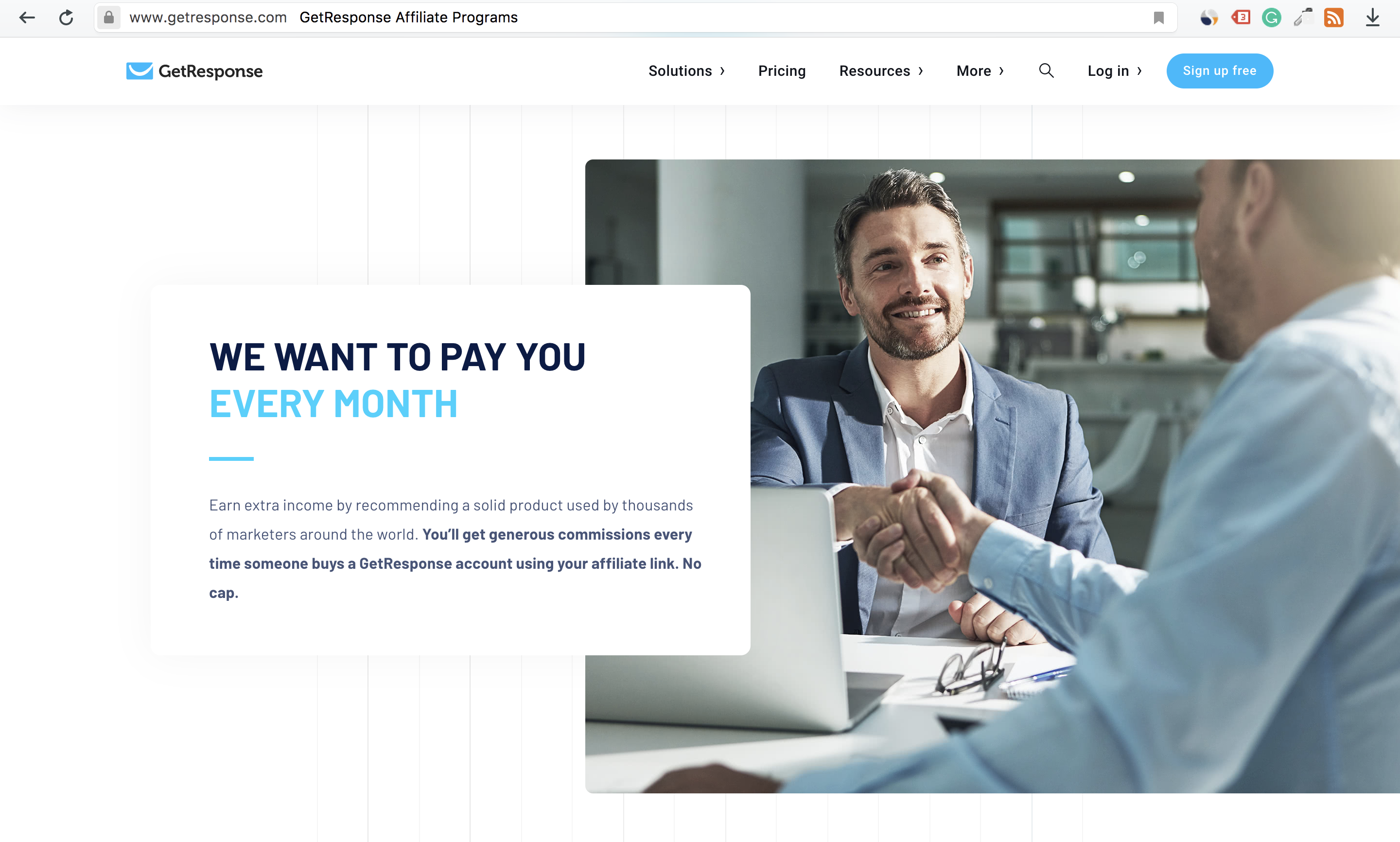 GetResponse Affiliate Program Sneak Peek