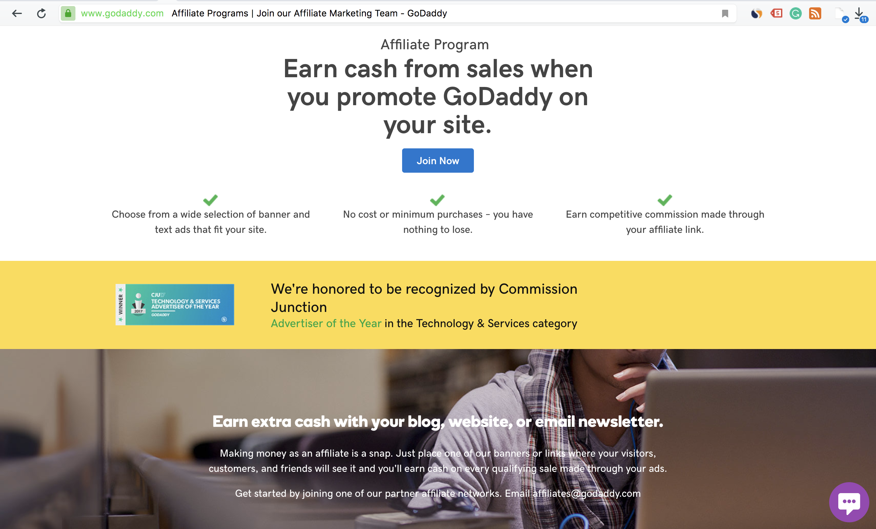 GoDaddy's Affiliate Sneak Peek