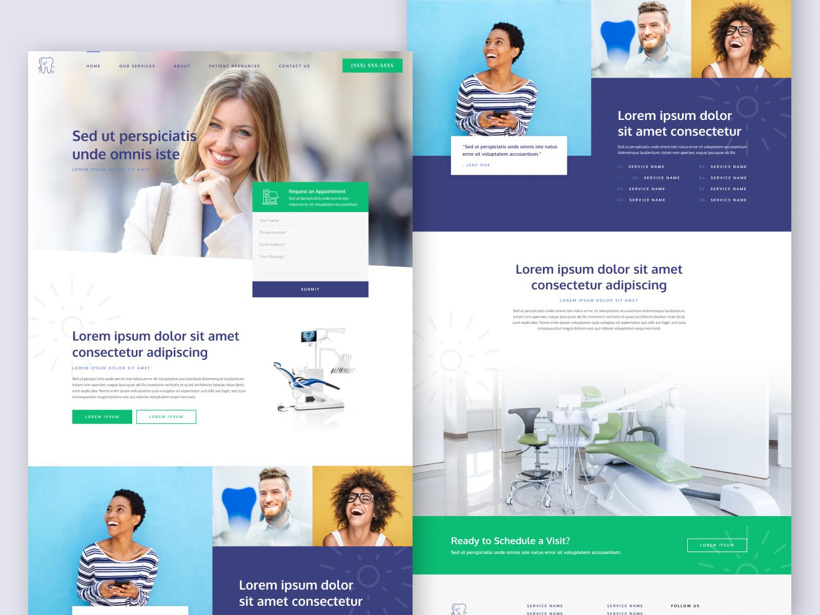 Medical Office Website Design Example #2