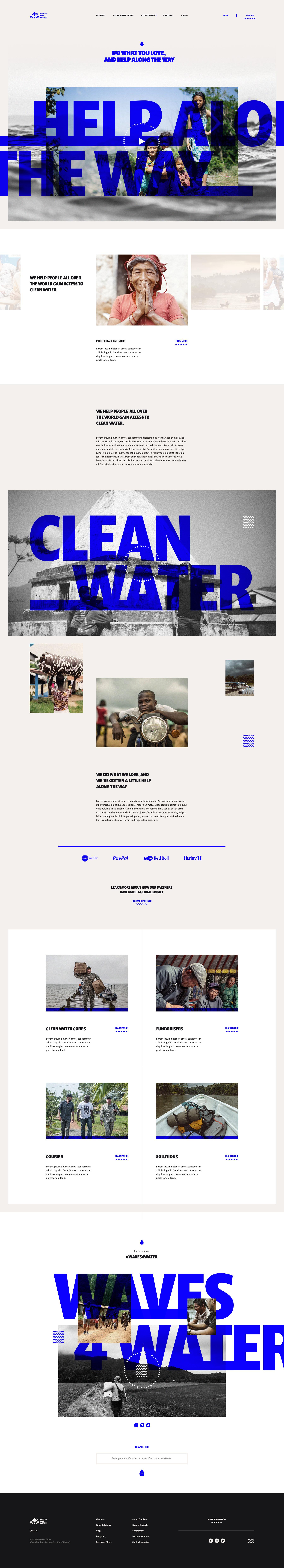 Non-Profit Website Example #1