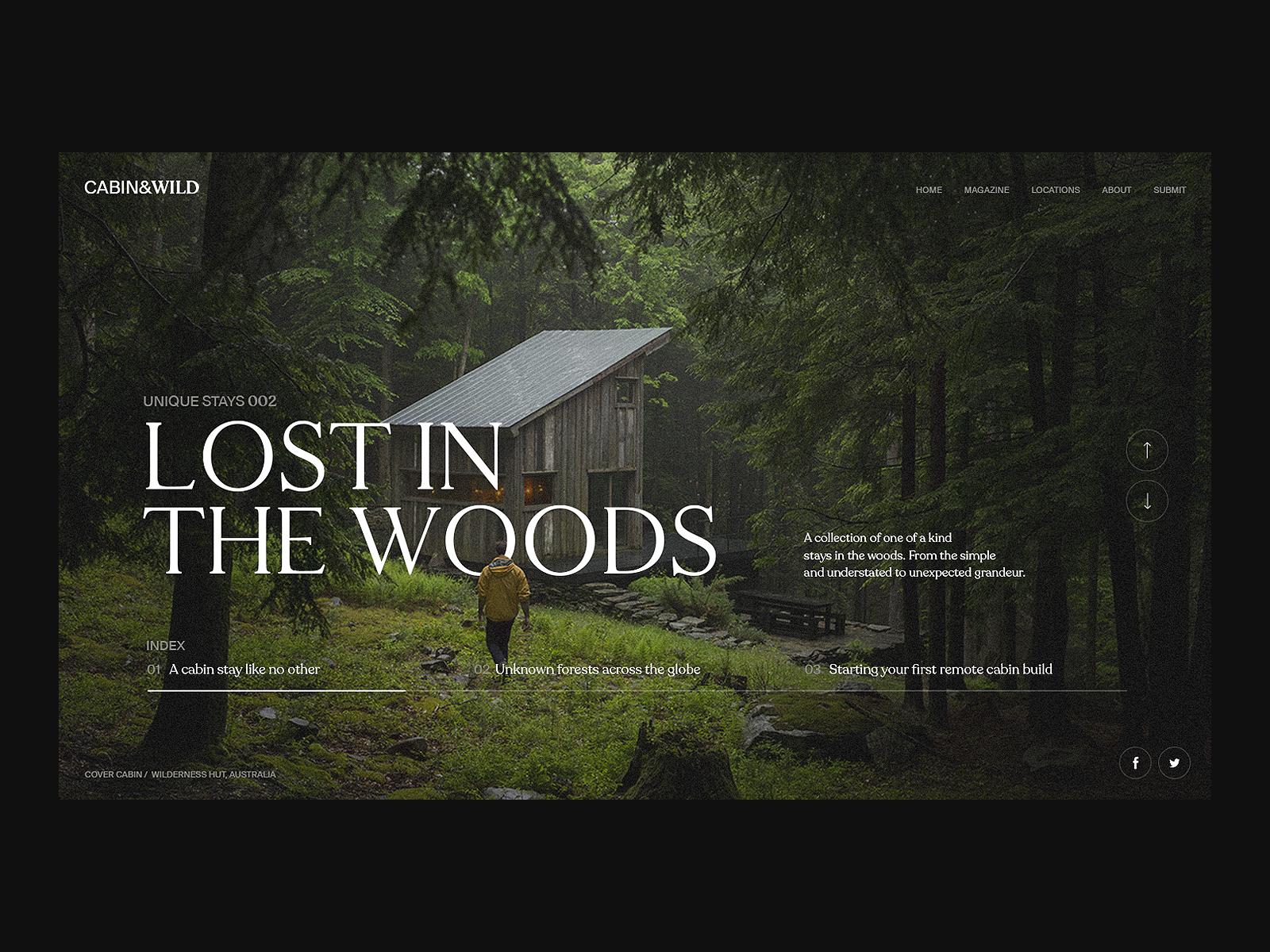 Resort Website Design Example #1