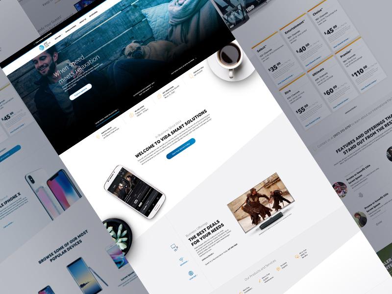 Service Provider Website Example #2