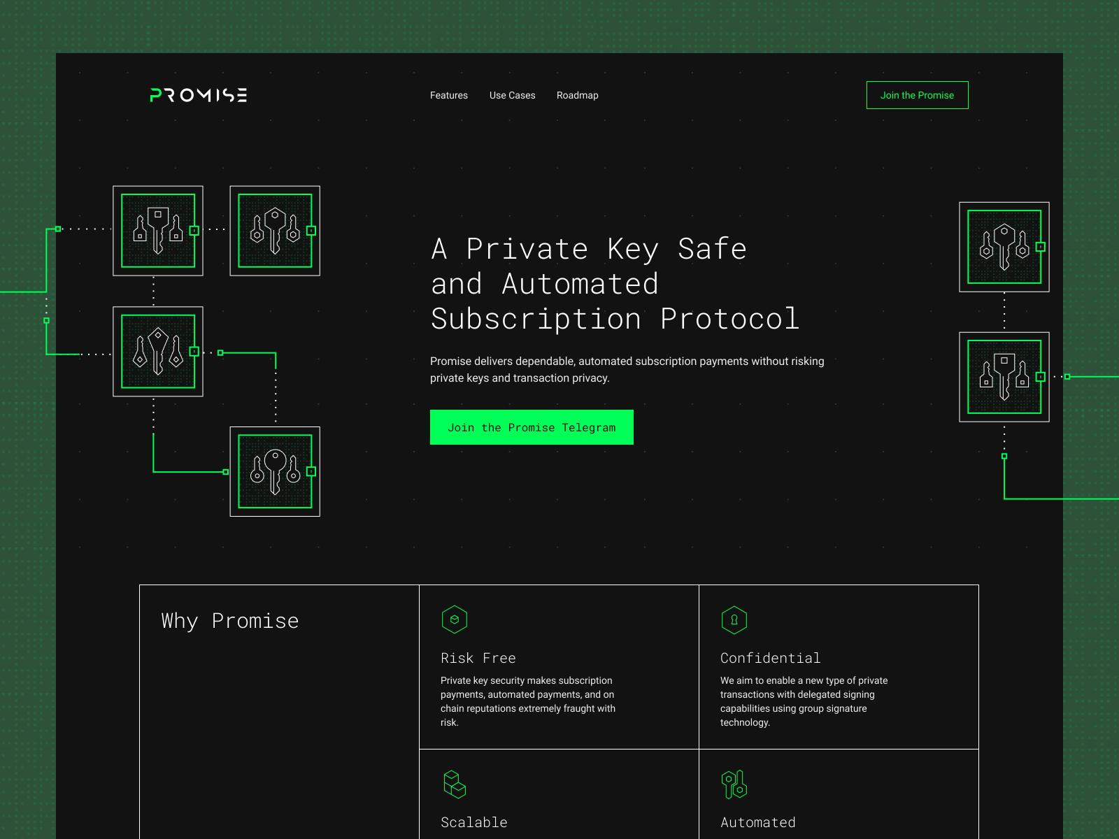 Technology Website Design Example #2